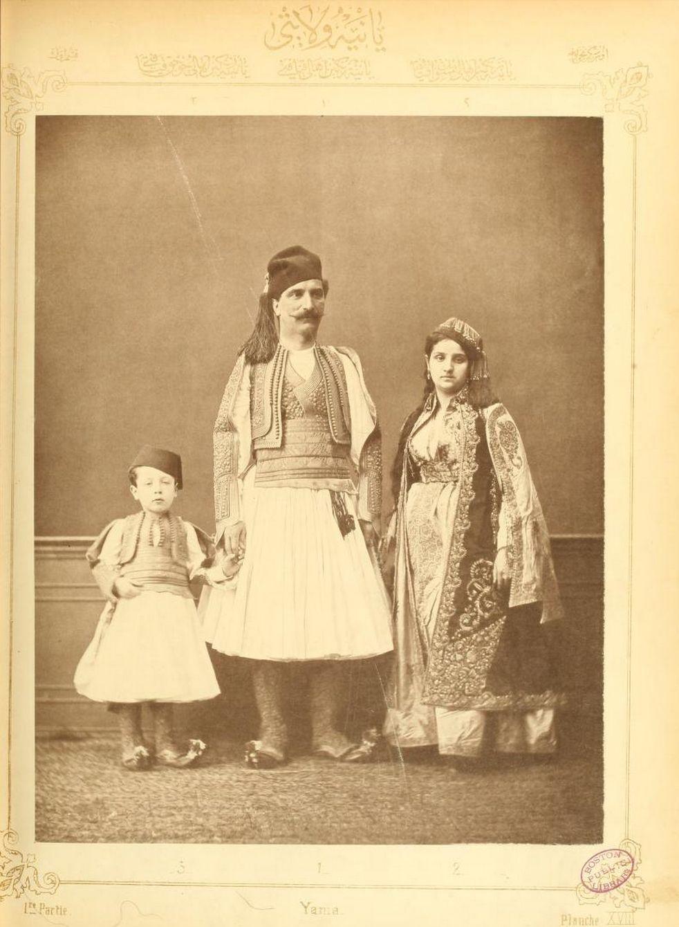Albanians of Janina, Epirus