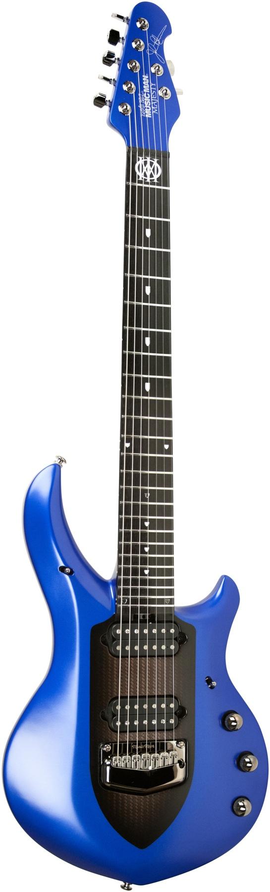 Ernie Ball Music Man Jason Richardson Signature Cutlass Hh Electric Guitar Natural Buckeye Burl Music Guitar Guitar Electric Guitar