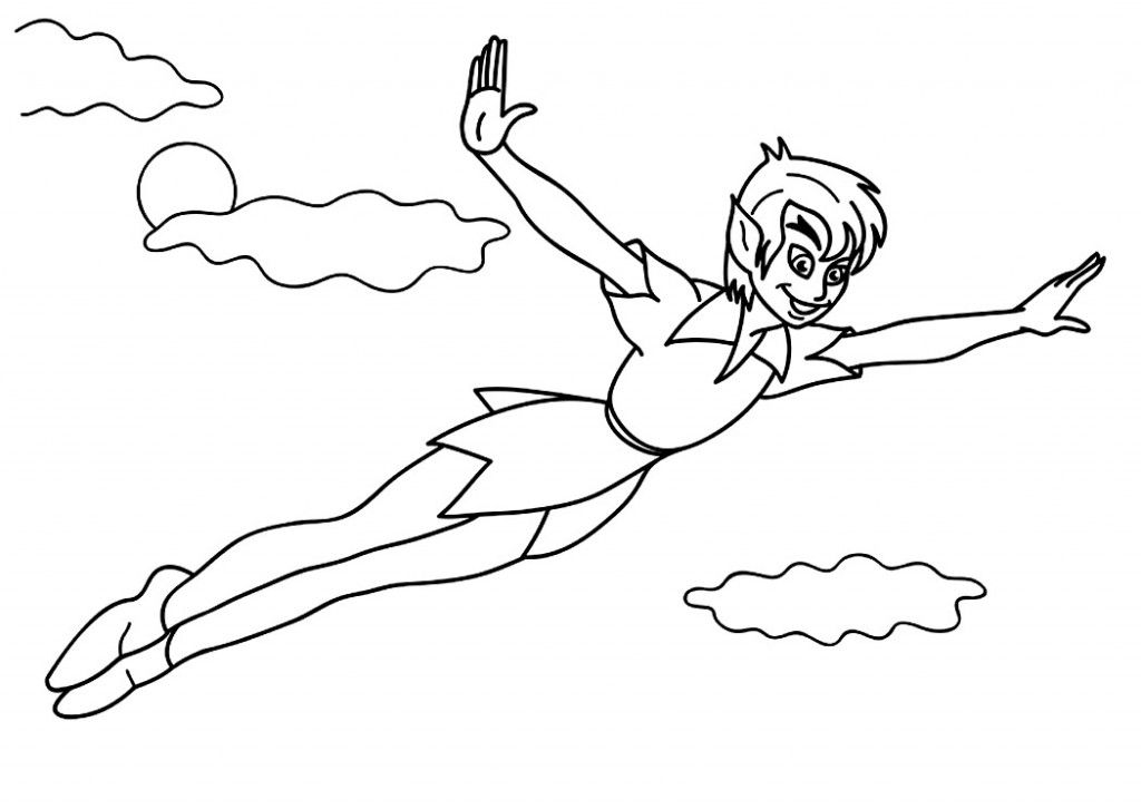 Free Printable Peter Pan Coloring Pages For Kids Peter Pan Coloring Pages Tinkerbell Coloring Pages Free Coloring Pages