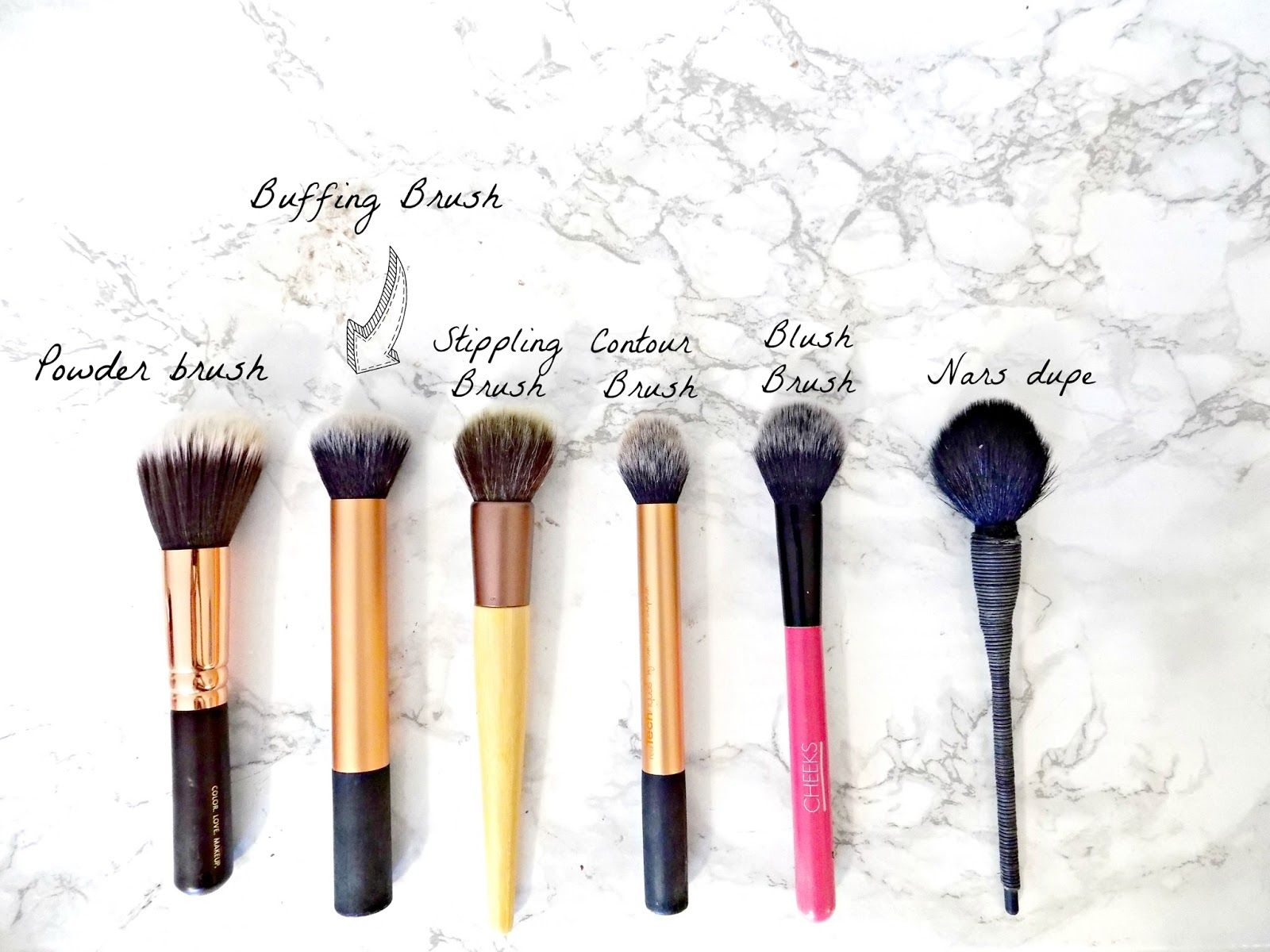 My MustHave Makeup Brushes Makeup brushes, Makeup, Brush