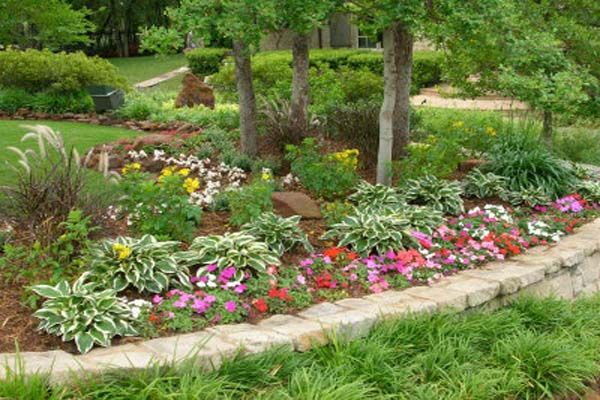 Inexpensive landscaping ideas for front yard properly for Cheap garden soil