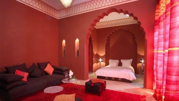 chambre à coucher marocaine | Décor chambre à coucher | Pinterest ...