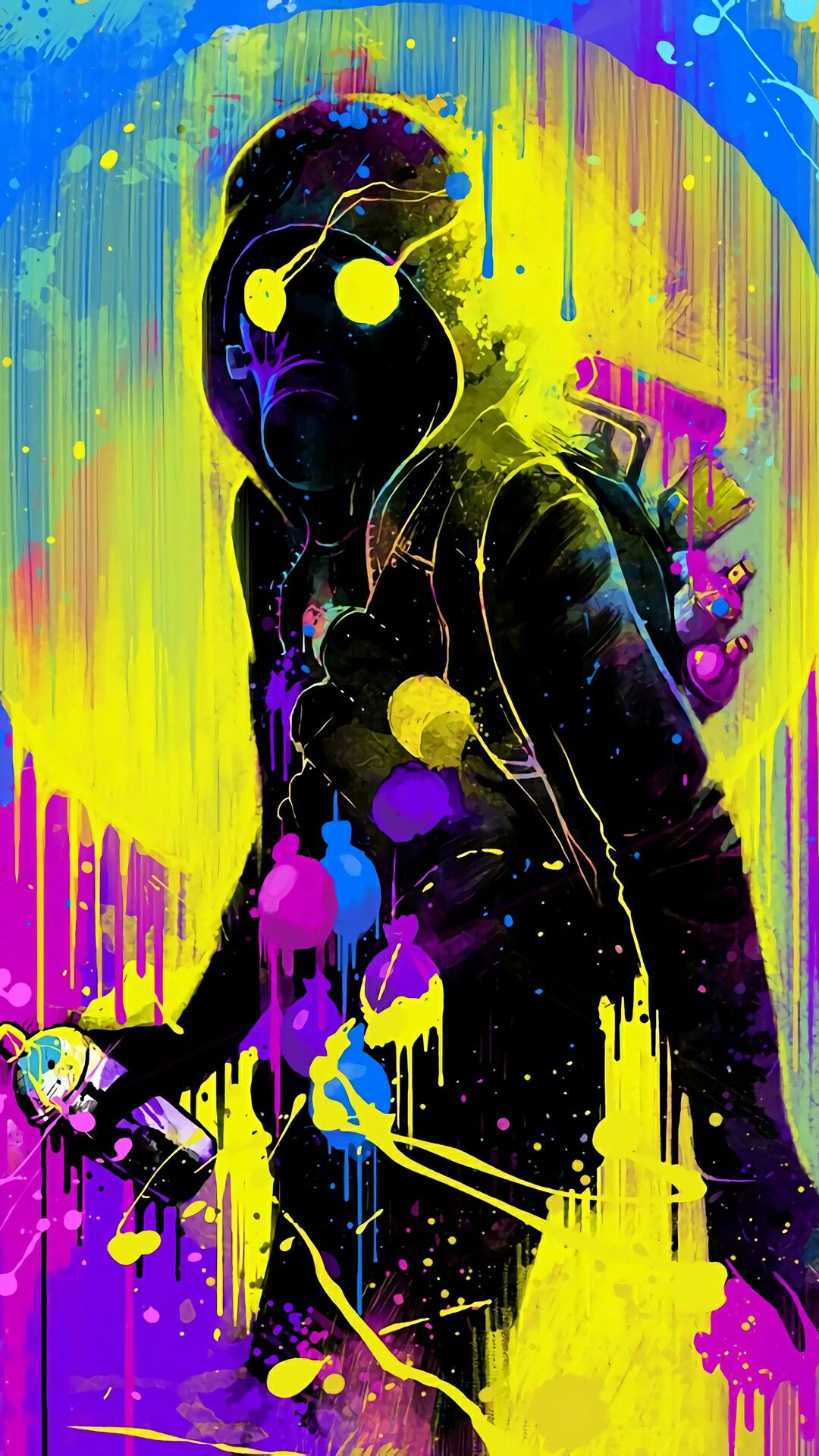 Pin by 昱辰 劉 on Sprays in 2019 | Graffiti wallpaper, Art, Gas mask art