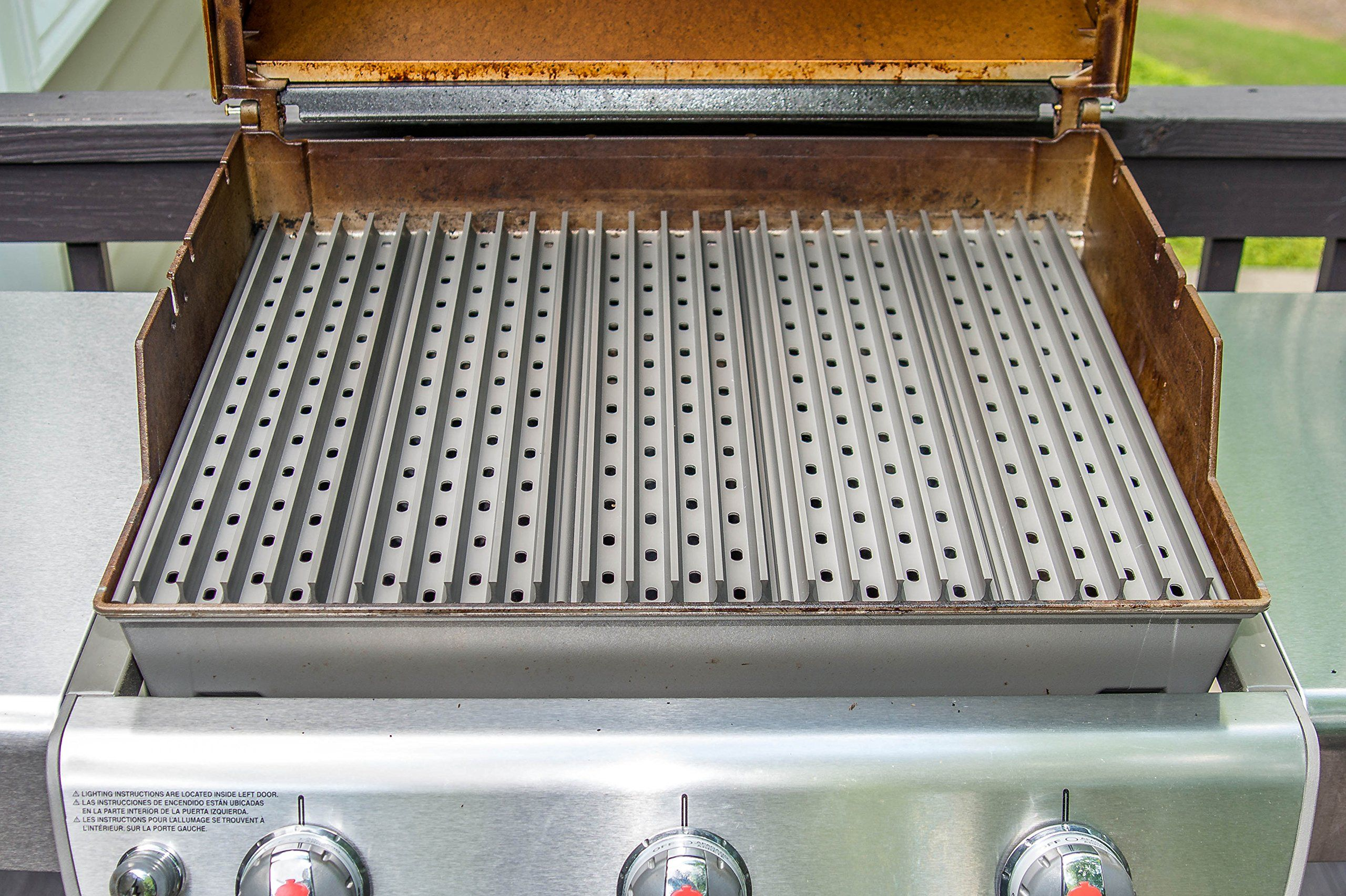 Grillgrate Replacement Grate Set Custom Sized For Weber Genesis Grills Backyard Kitchen Grilling Outdoor Kitchen Cabinets