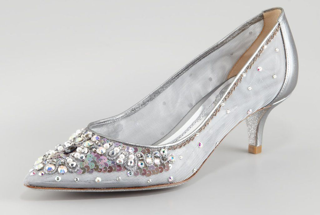 Beautiful-wedding-shoes-for-tall-brides-silver-with-kitten-heel.full