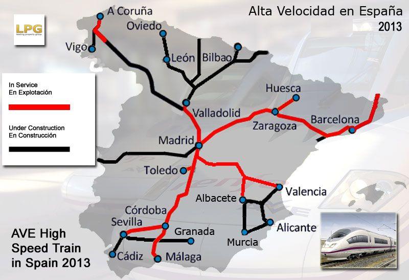 Mapa De Ave España