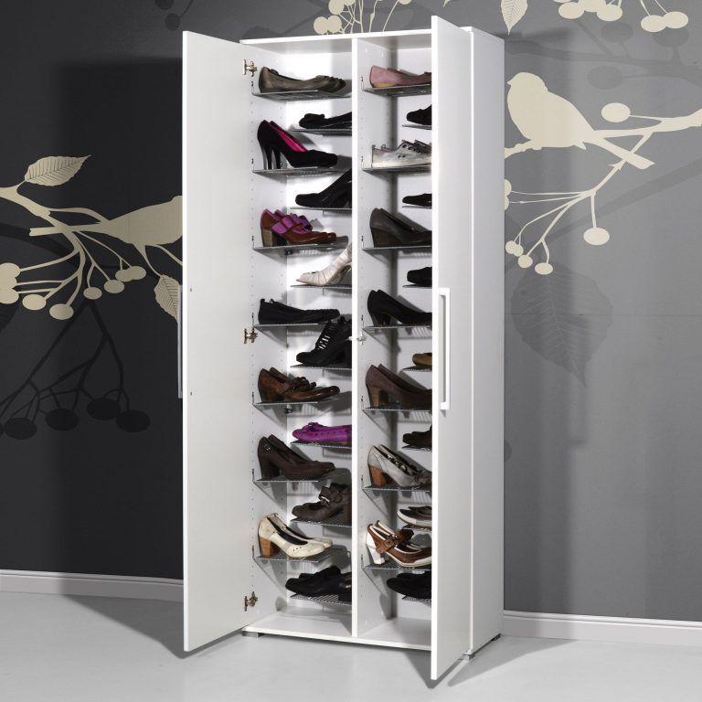 meuble chaussures grande capacite