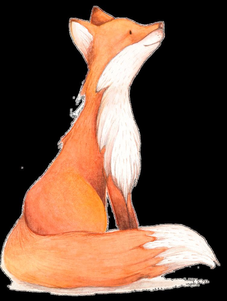 Red Fox Watercolor Art Print By Boninba X Small Watercolor Fox Watercolor Fox Painting Fox Painting