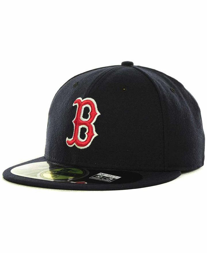 8f430f69 New Era Boston Red Sox Authentic Collection 59FIFTY Hat | Products ...