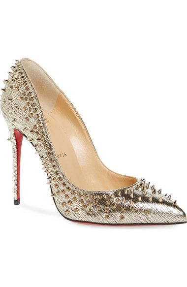 huge selection of 22d7f 150de Christian Louboutin Escarpic Spike Pump (Women) available at ...