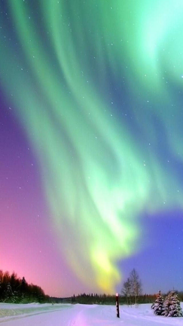 aurora borealis iPhone 5s wallpaper iPhone 5(s