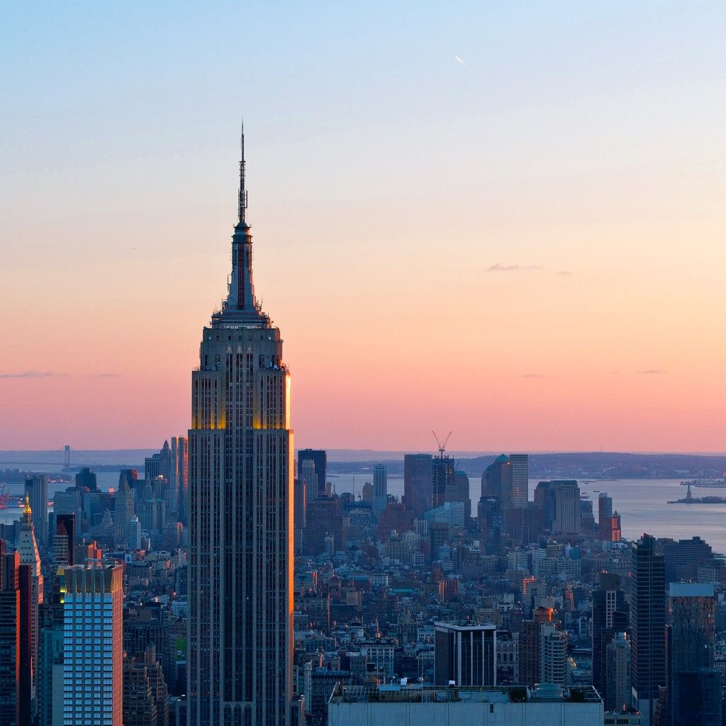 Empire State Building Dusk #ipad #wallpaper Hd Ipad Wallpapers