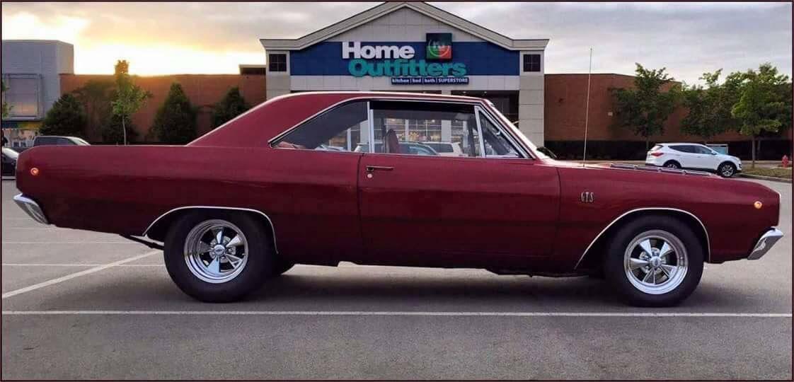 68 Dodge Dart Gts 1968 Dodge Dart Mopar
