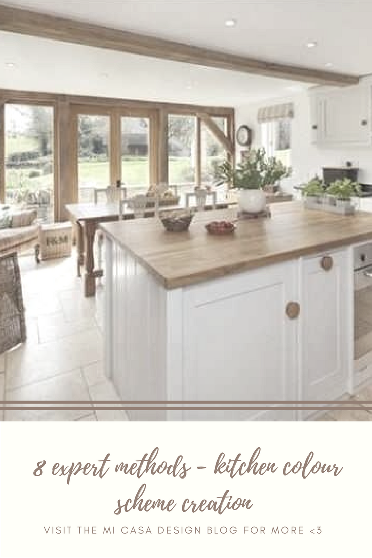 Kitchen colour for cabinets and islands to fire up your culinary ...