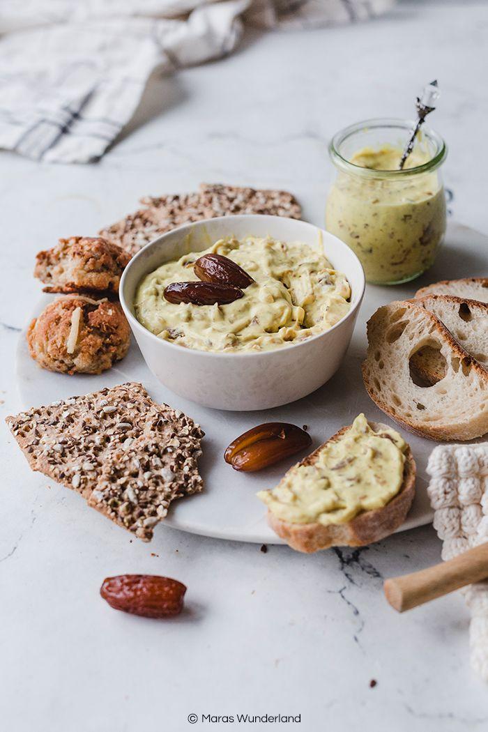 Veganer Dattel-Curry-Dip. Schnell & einfach. • Maras Wunderland