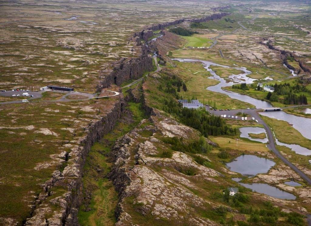Thingvellir - the park between two continents.