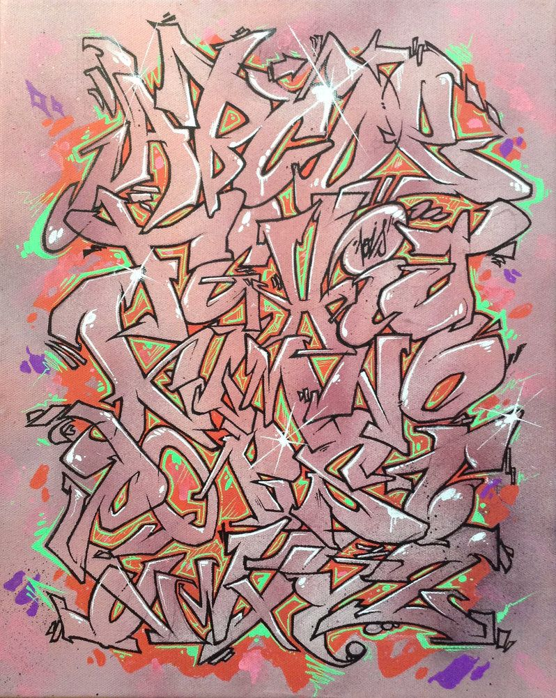 Graffiti alphabet jois85 deviant art