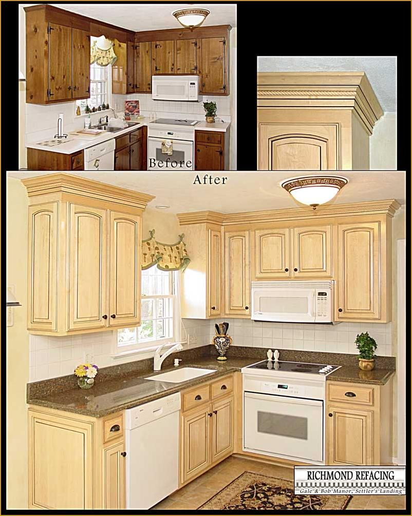 Kitchen Cabinet Refacing Images 4 Richmond Refacing Refacing Kitchen Cabinets Refurbished Kitchen Cabinets Kitchen Cabinets