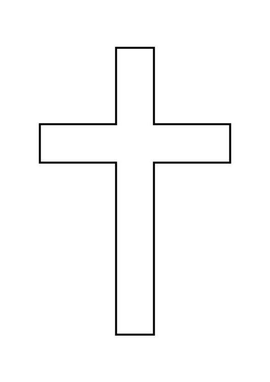 Dibujo para colorear Cruz   Jesus in 2018   Pinterest