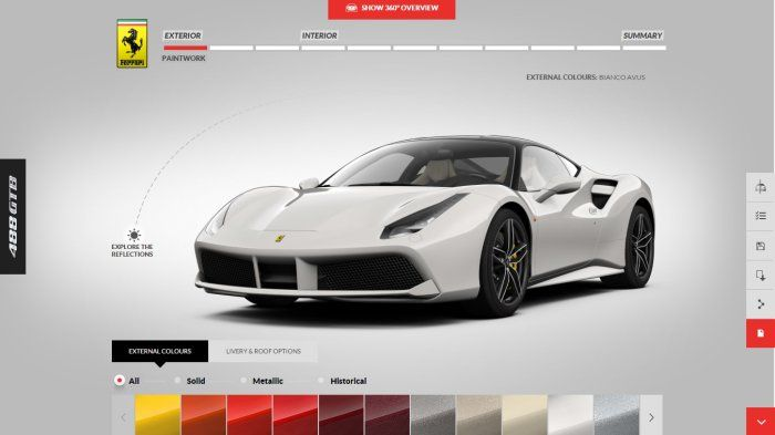 Build Your Own Ferrari 488 GTB - SSsupersports.com | Ferrari, Exotic