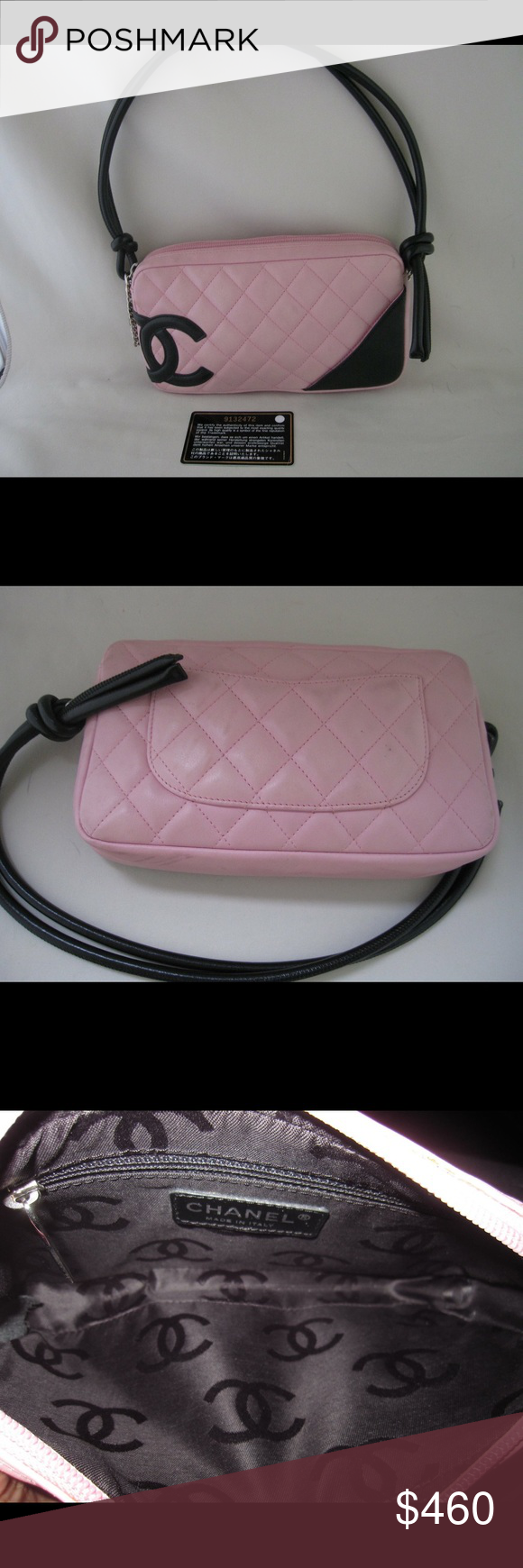 d57fdf87b39f Authentic Preloved Chanel cambon collection Gently used. It can use both  style  shoulder bag