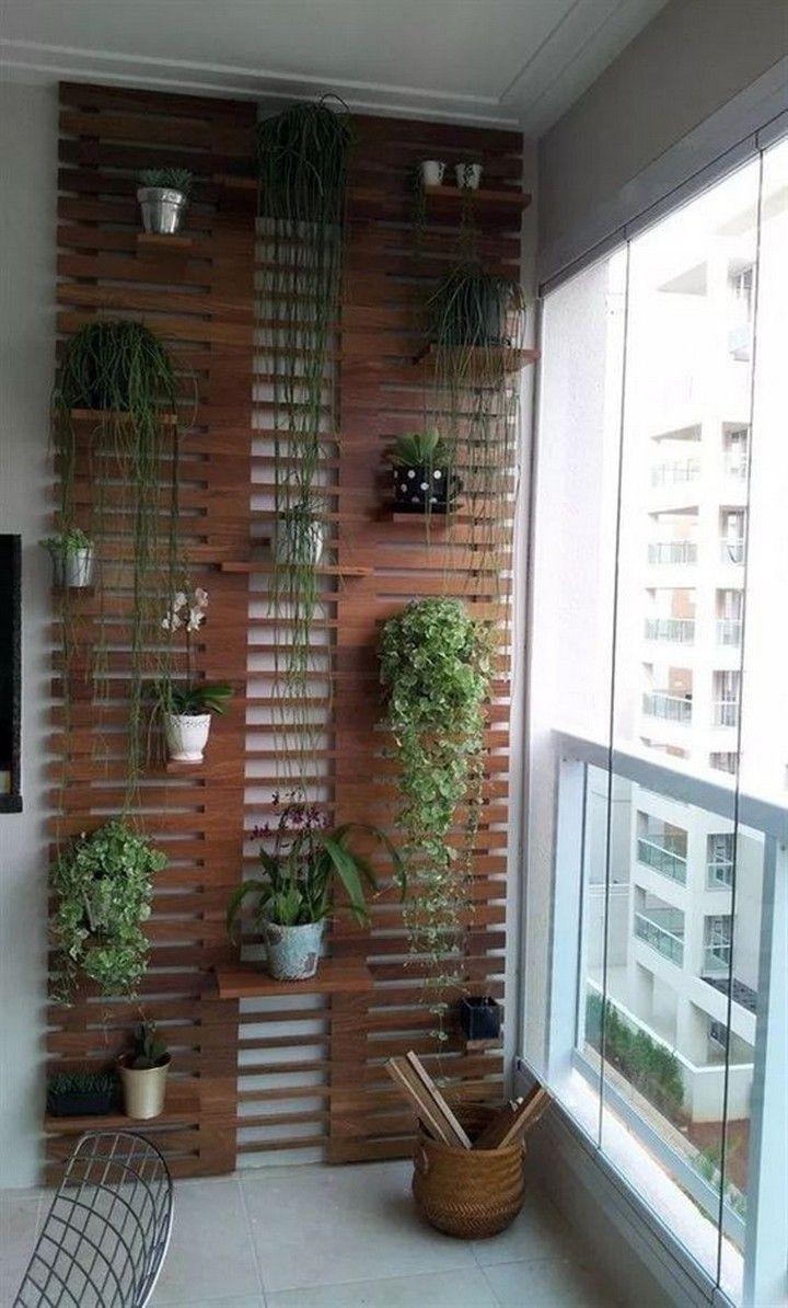 Inspiring Small Balcony Garden Ideas For Small Apartment