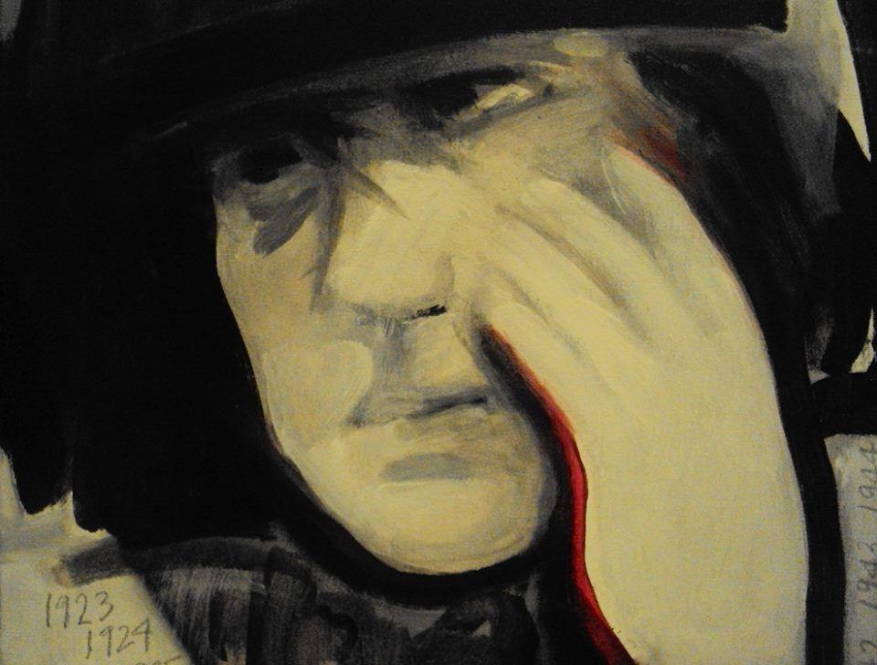 Pintora y grabadora, adelantadísima a su tiempo, Roser Bru recibe el Premio Nacional de Artes Plásticas de Chile, a los 92 años y con la fuerza interior de siempre. Autorretrato...
