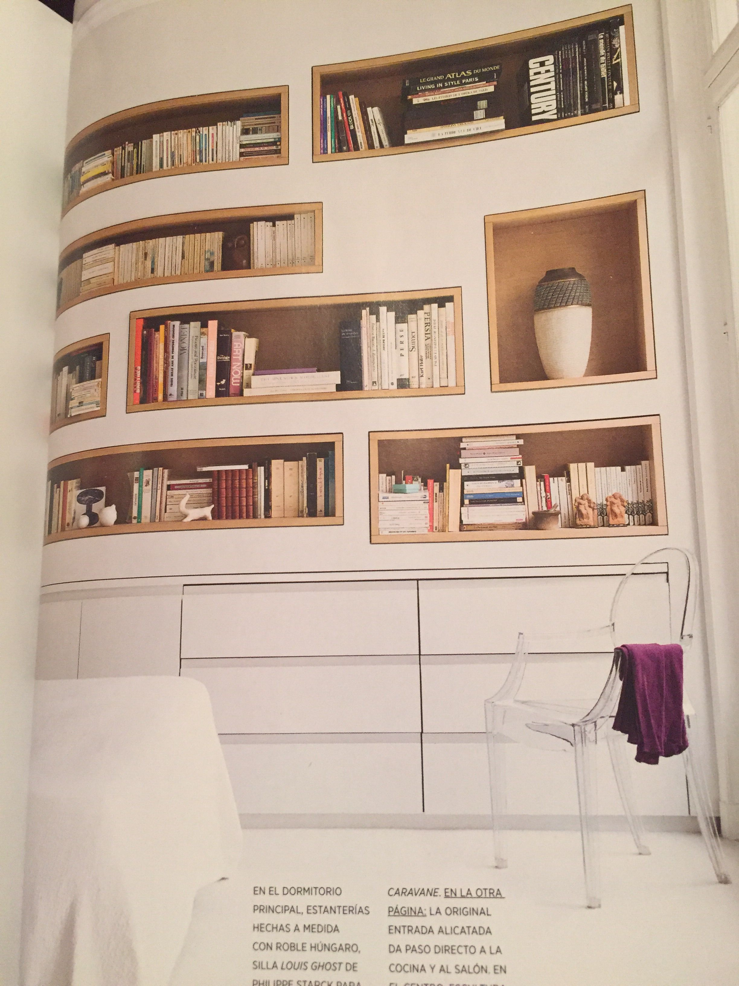 Estanteria Para Dormitorio Habitaciones Balandro Pinterest - Estanterias-para-dormitorios