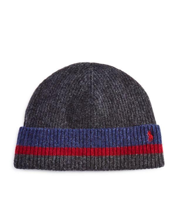 Polo Ralph Lauren Knitted Stripe Hat