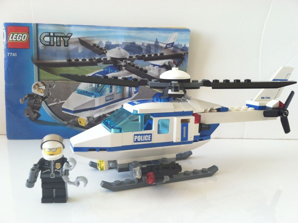 Lego City Police Helicopter 7741 100 Complete Instructions