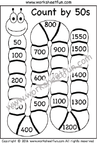 Skip Counting by 50 – Count by 50s