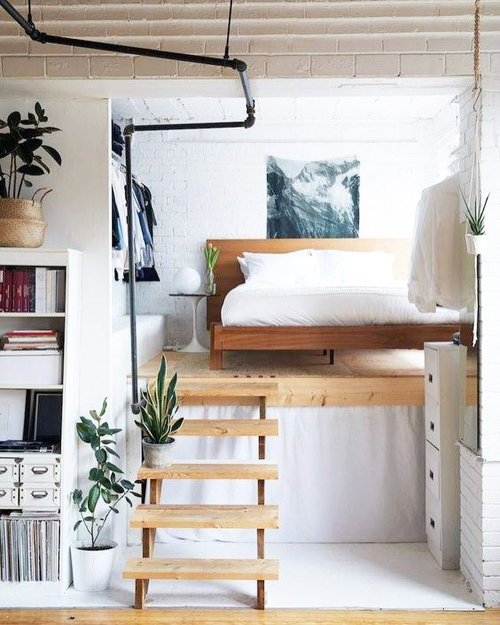 Cheap Loft Apartments: Add Extra Space To Small Bedrooms