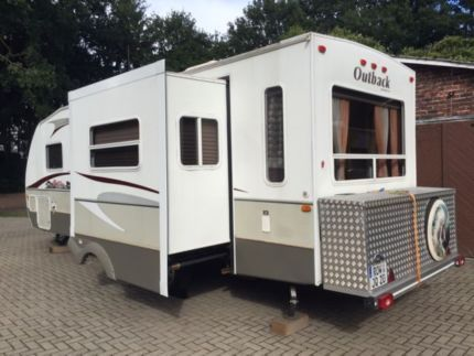 Andere Us Wohnwagen Usa Keystone Outback M Slideout In