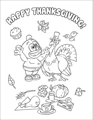 thanksgiving teddy bear coloring pages | Thanksgiving 2011 coloring page | Coloring pages, Crafty ...