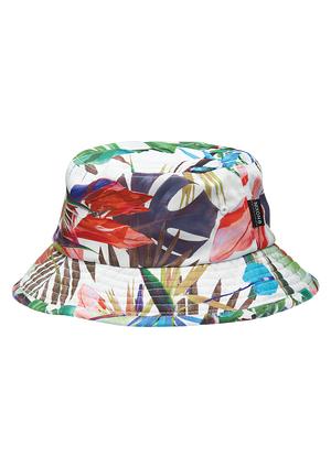 Outdoor Beach Summer Unisex Men Women Coconut Tree Pattern Bucket Hat Outdoor Sun Cap Gifts Sports Hat Clothing Accessories Beach Caps