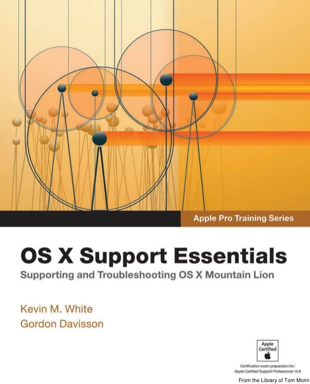 The only Apple-certified book on OS X Mountain Lion, this revised - spreadsheet apple