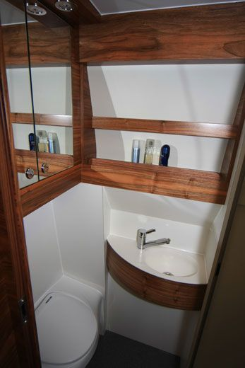 Sprinter Van Conversion Custom Bathroom