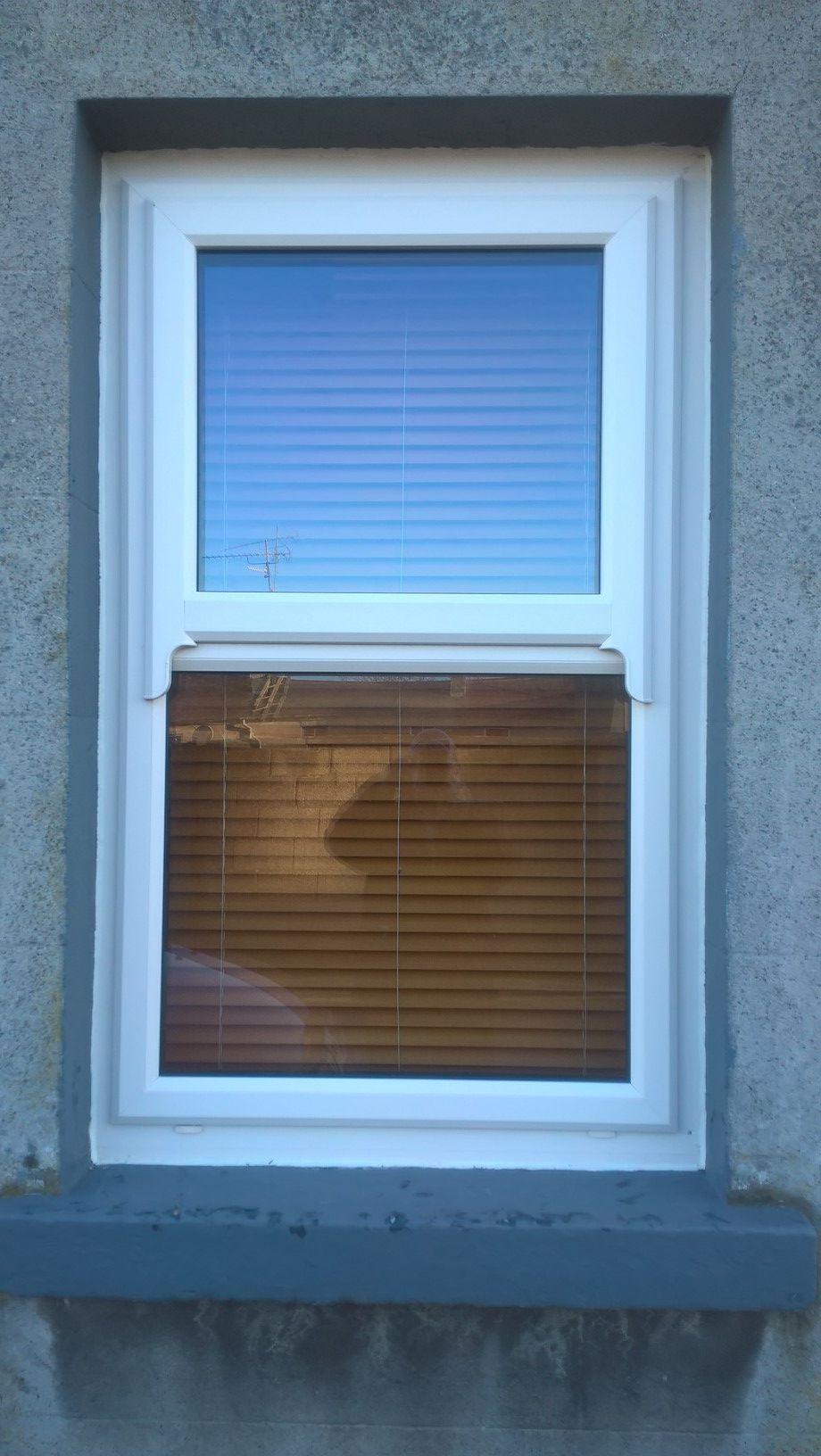 Pvc Mock Sash Window In White Windows Exterior Windows Window Projects
