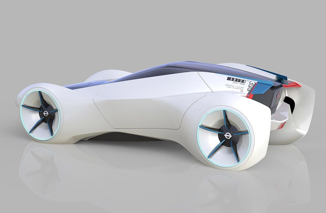 The Anion Is Futuristic Design Study Of A Two Seater Nissan That