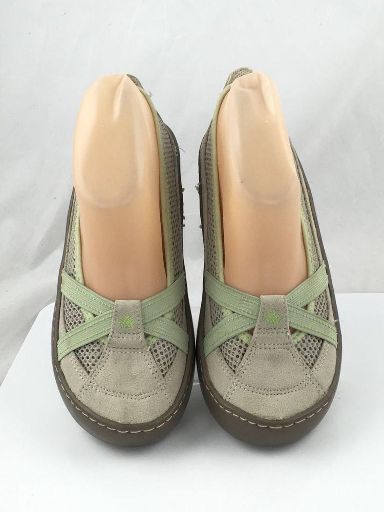 2275de1ae91a1 Terrasoles Womens Echo Crossband Ballerina Mesh Slip On Shoes Size US 5 EUR  38  Terrasoles  LoafersMoccasins  Casual