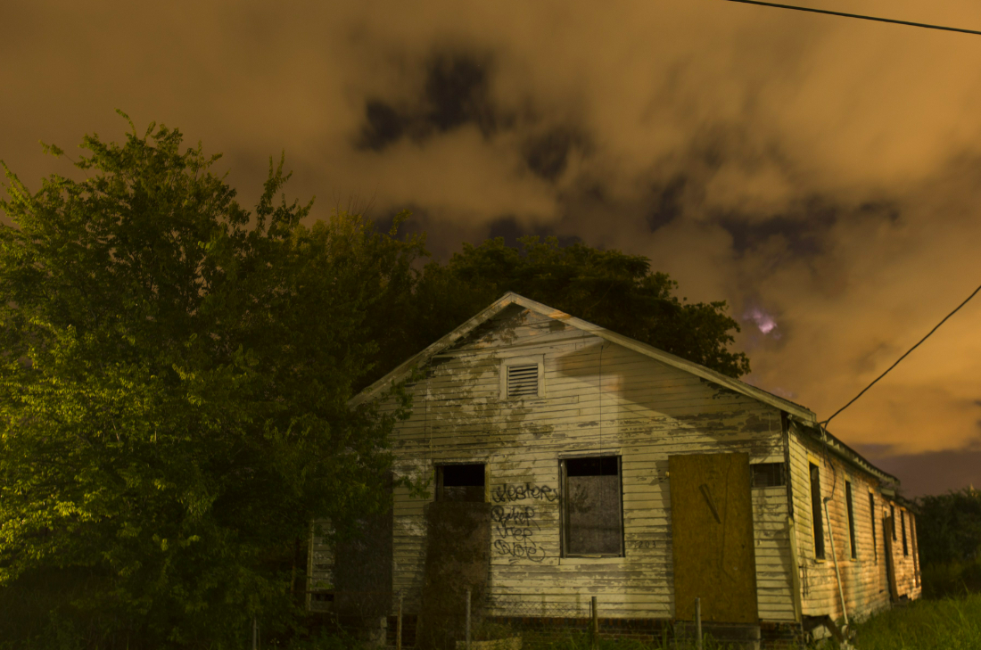 Why go to a fake haunted house this Halloween when you can experience the real thing?