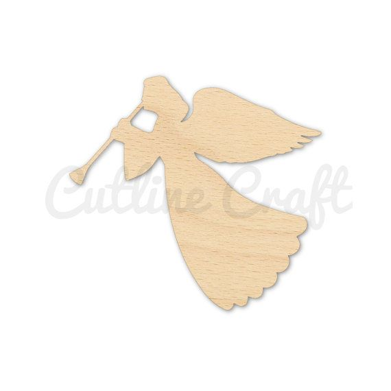 Holiday Angel Style 2003 Cutout Shapes Crafts Gift by CutLineCraft
