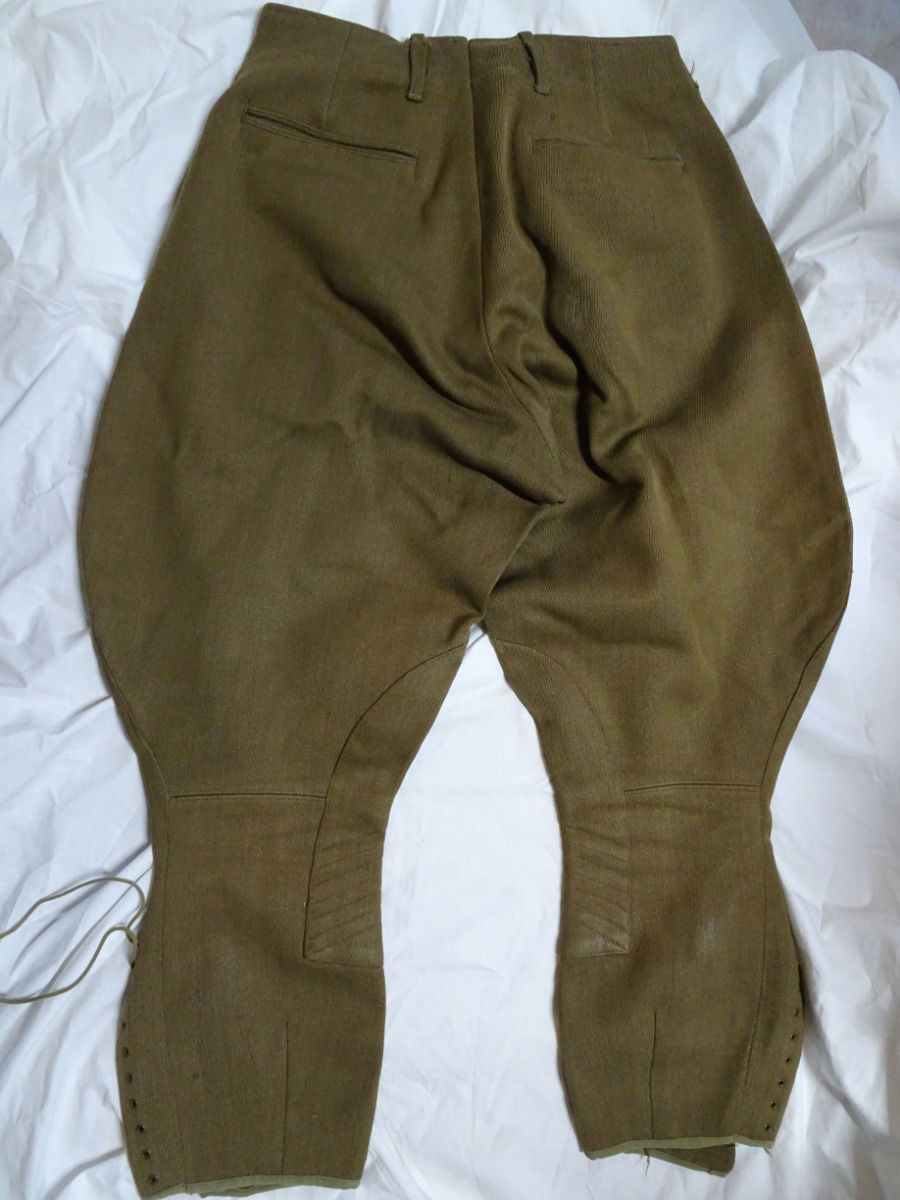3fe63707feff US Army WWII m1926 OD Wool Elastique Riding Breeches. He served with the  2nd Armored Division and the 69th Infantry Division. PICKUP  Pickup is  available.