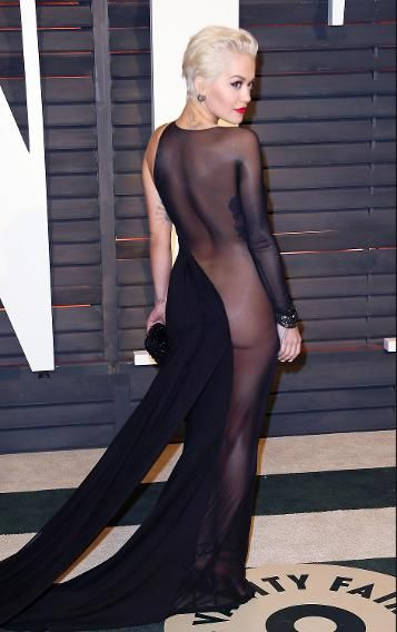 Rita Ora Goes Almost Naked Who Else Wore What Post Oscars At All