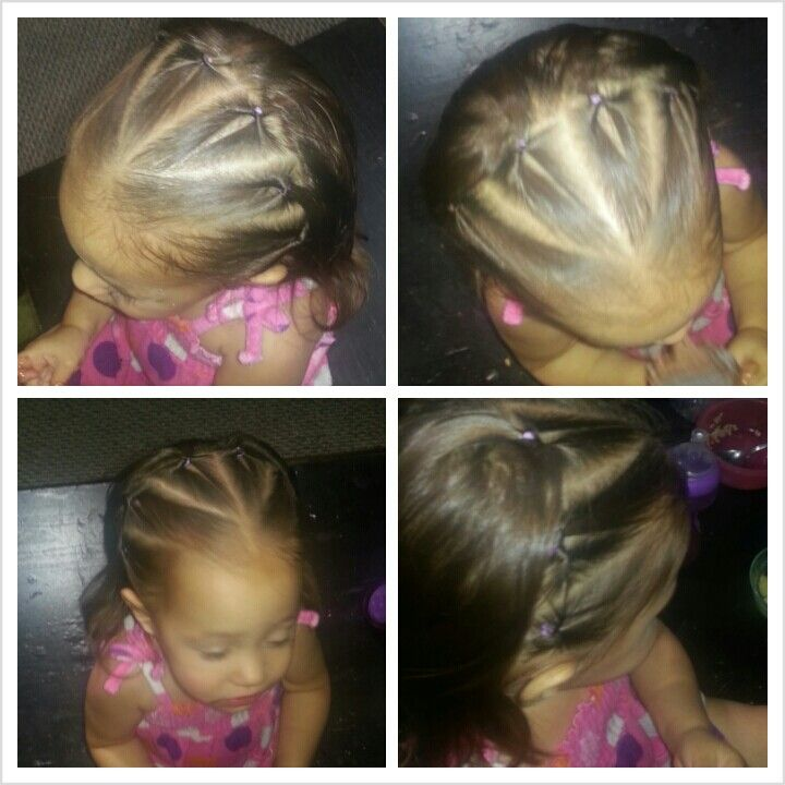 Topsy Tail The Ends So Its Not All Poofy Quick And Easy Hairstyle For Toddlers Toddler Hair Hair Styles Easy Hairstyles