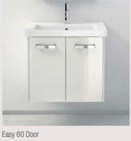 Berloni Bagno Easy 60 2 door in white Powder room & studio bath ...