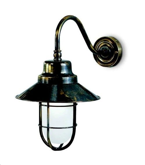 Western Outdoor Lighting 448w f wheelhouse exterior brass wall light from lights 4 living franklite great western exterior wall light in bronzed brass from lights 4 living workwithnaturefo