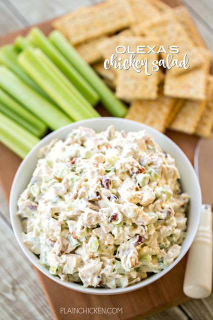 Olexa S Chicken Salad This Is The Best Chicken Salad Ever So Good Chicken Mayo Sour Cream Best Chicken Salad Recipe Chicken Salad Smoked Chicken Salad