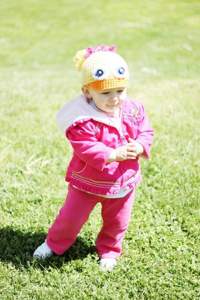 1-2 años patrón de crochet sombrero de pato | CROCHET gorros ...