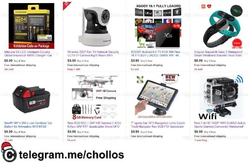 Stock limitado de productos variados en Ebay a 999 - http://ift.tt/2iMTquA